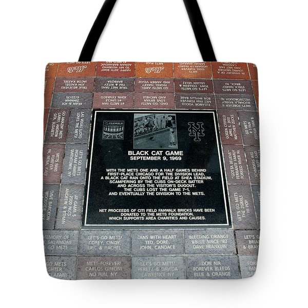 Black Cat Game Tote Bag by Rob Hans