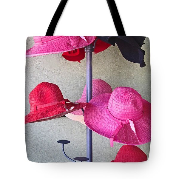 Black Chapeau Of The Family Tote Bag