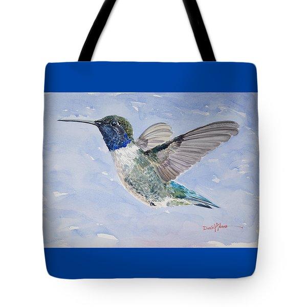 Da194 Black Chinned Hummingbird By Daniel Adams Tote Bag