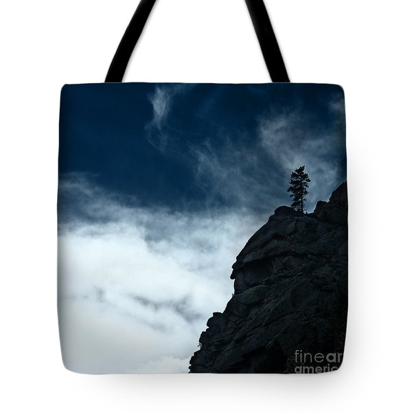 Tote Bag featuring the photograph Black Cliff by Dana DiPasquale