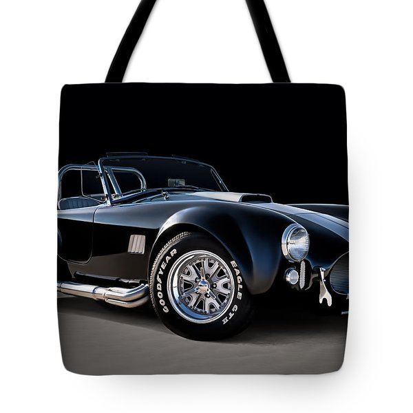 Black Cobra Tote Bag
