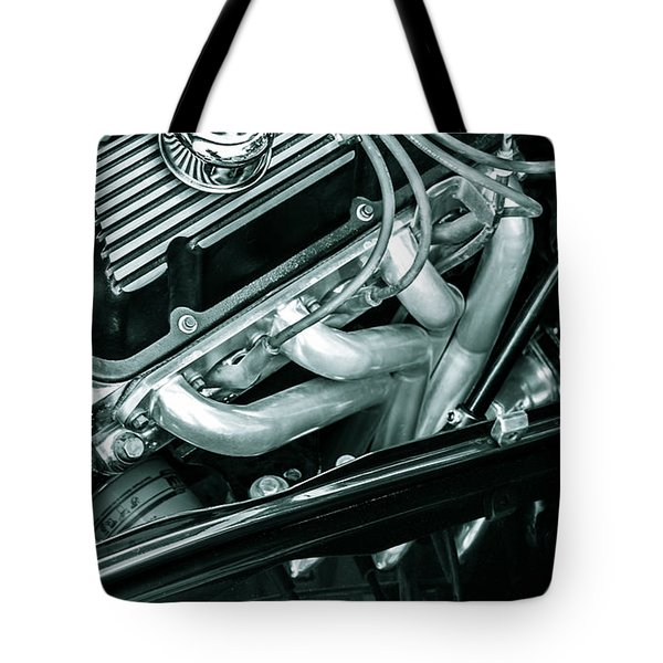Black Cobra - Ford Cobra Engines Tote Bag