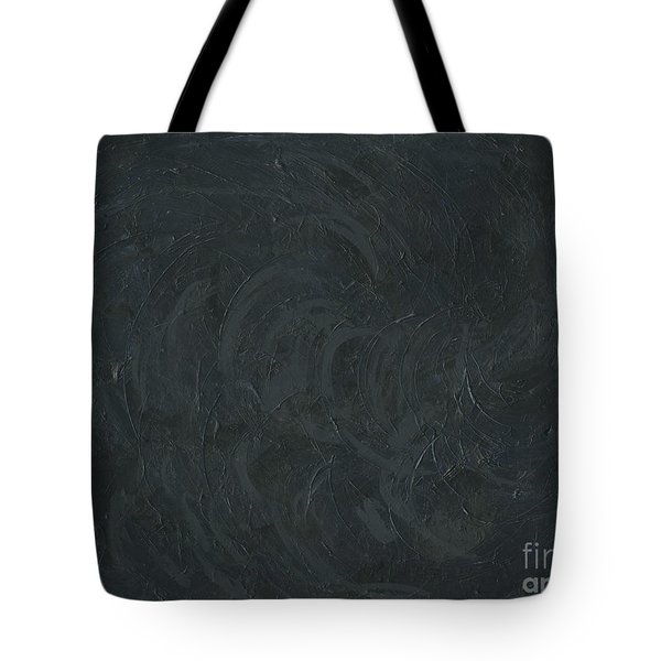 Black Color Of Energy Tote Bag