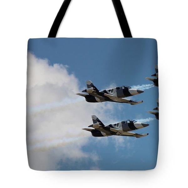 Black Diamond L-39s In Flight Tote Bag