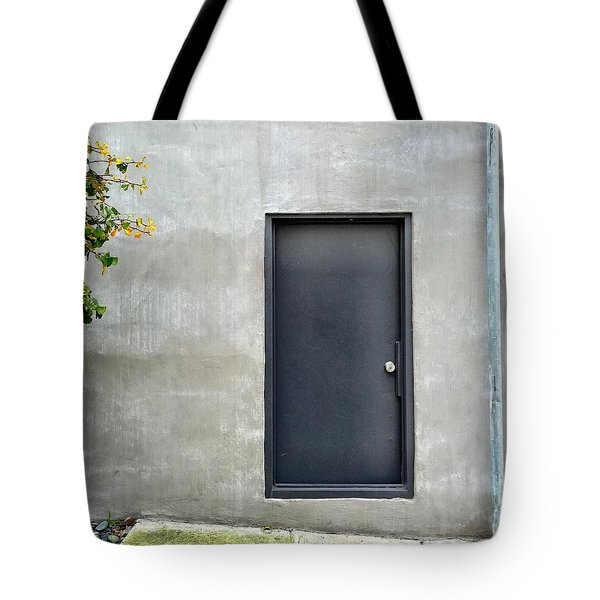 Black Door Tote Bag