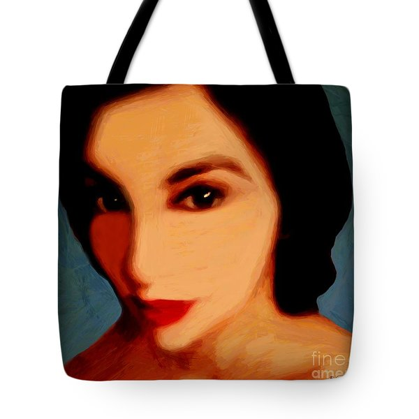 Black-eyed Beauty Tote Bag