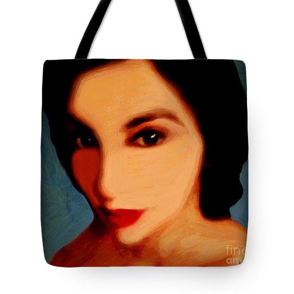 Black-eyed Beauty Tote Bag