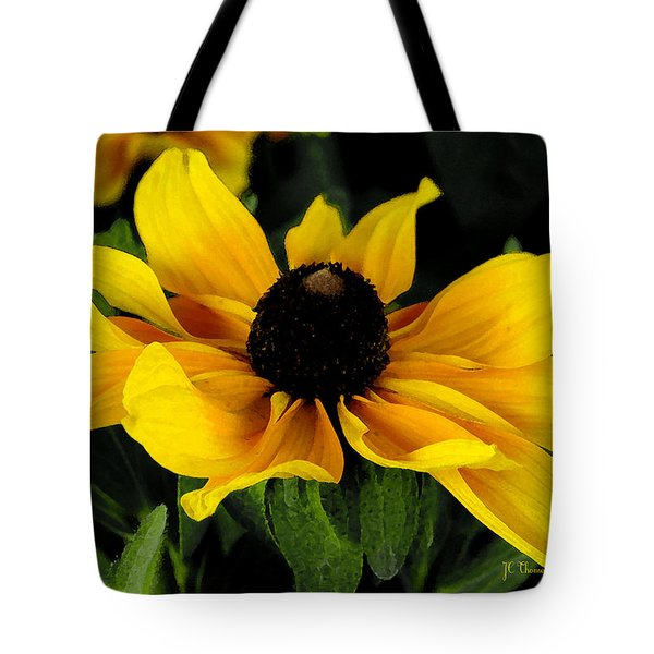 Tote Bag featuring the photograph Black Eyed Susan  by James C Thomas