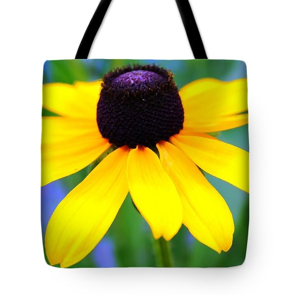Tote Bag featuring the photograph Black Eyed Susan by Judy Palkimas