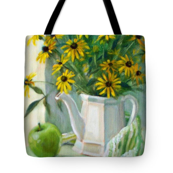 Black-eyed Susans Tote Bag by Bonnie Mason