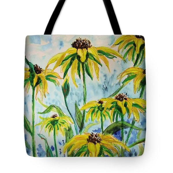Black Eyed Suzans Dream Tote Bag