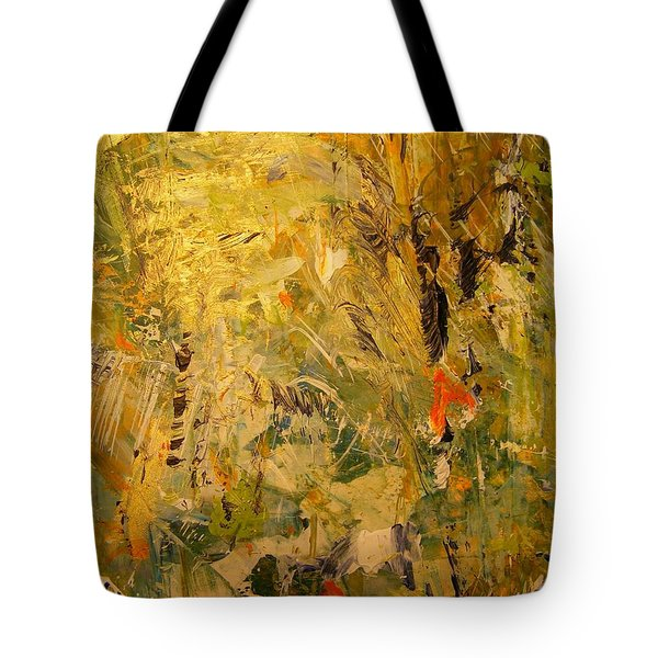 Tote Bag featuring the painting Black Feather by Nancy Kane Chapman