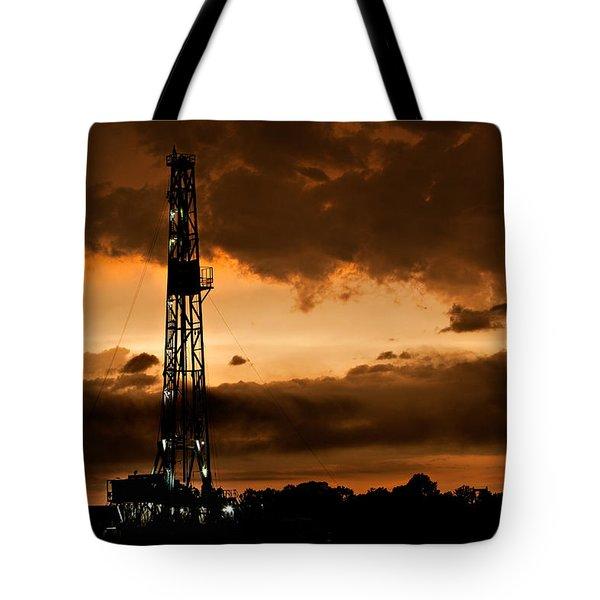 Black Gold Tote Bag