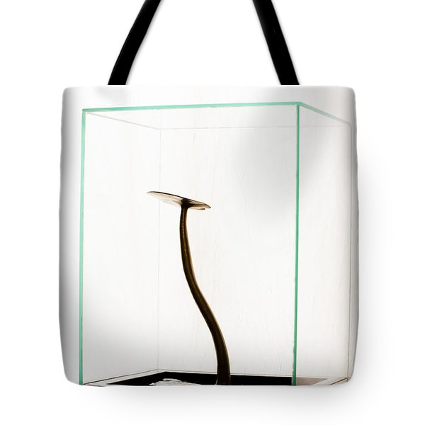 Black Gold Lily Tote Bag by Yevgeni Kacnelson