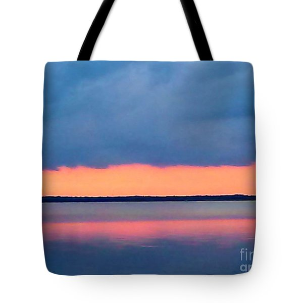 Black Hammock Sunset 2 Tote Bag