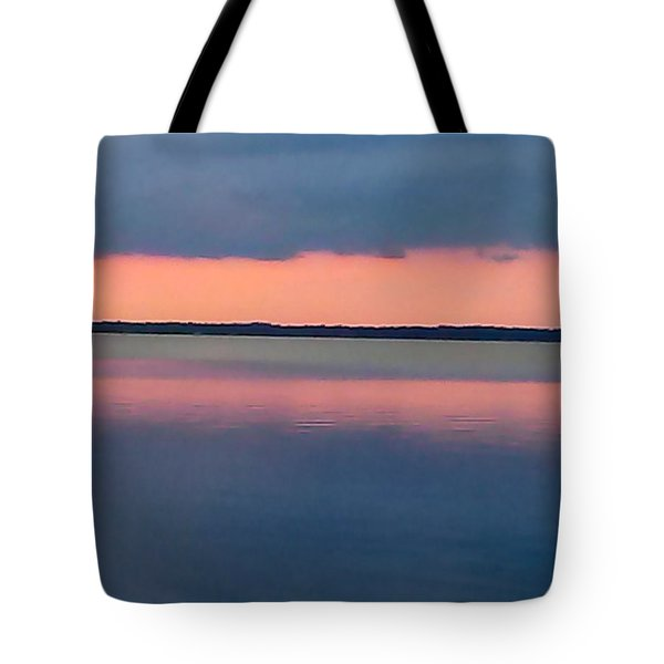 Black Hammock Sunset Tote Bag
