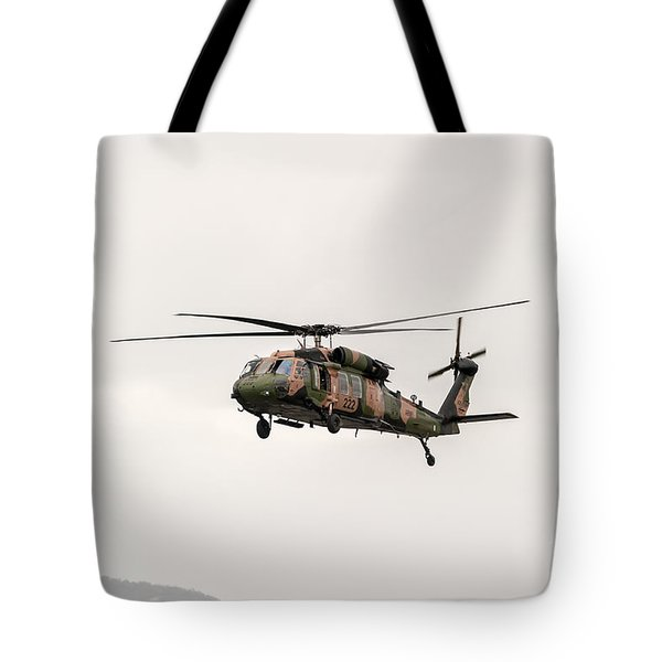 Black Hawk  Tote Bag