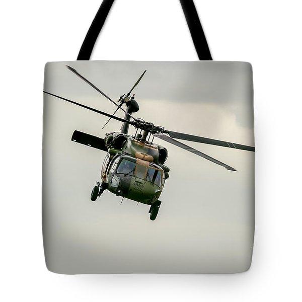 Black Hawk Swoops Tote Bag