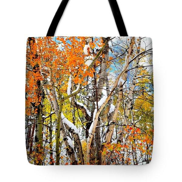 Black Hills Entanglement Tote Bag by Clarice  Lakota