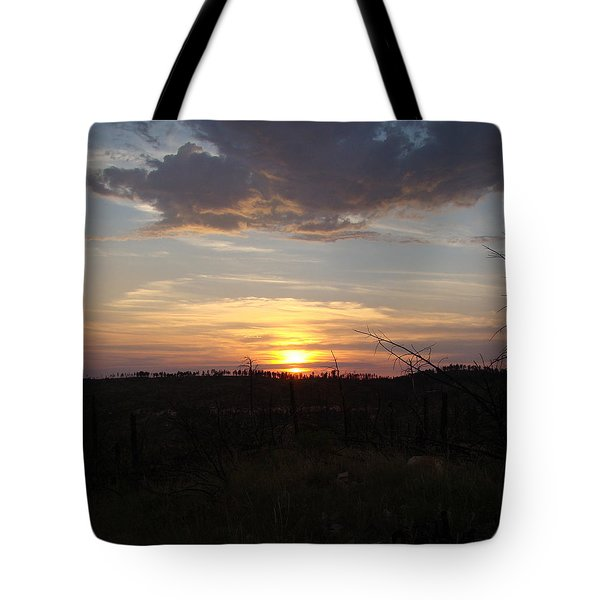 Tote Bag featuring the photograph Black Hills Sunset IIi by Cathy Anderson