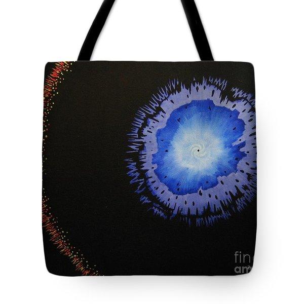 Black Hole Tote Bag by Lori Ziemba