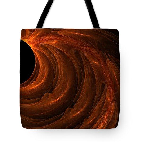 Black Hole Tote Bag by Lourry Legarde