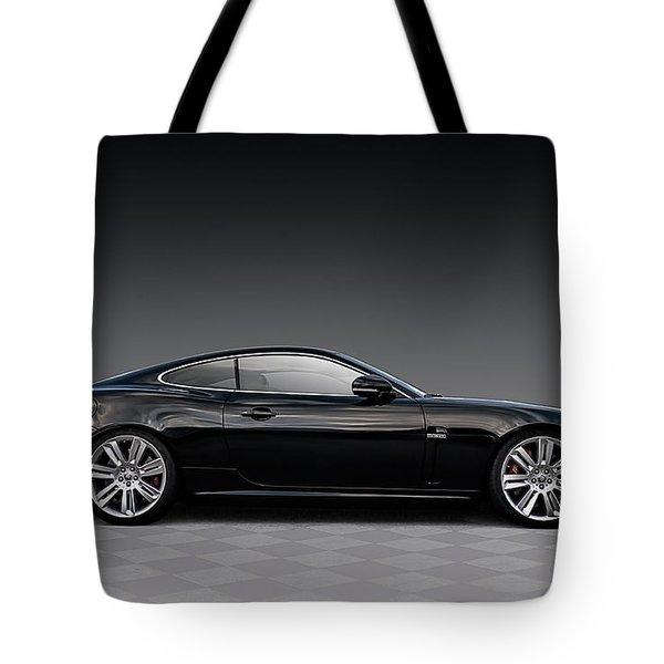 Black Jag Tote Bag
