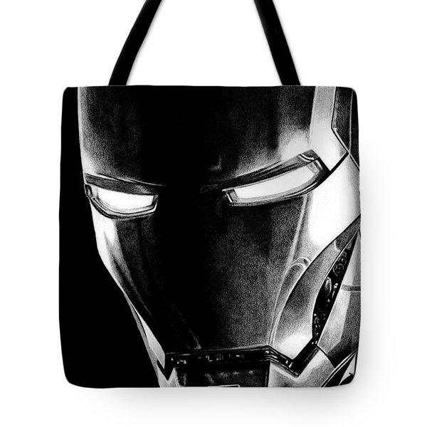 Black Led Avenger Tote Bag by Kayleigh Semeniuk