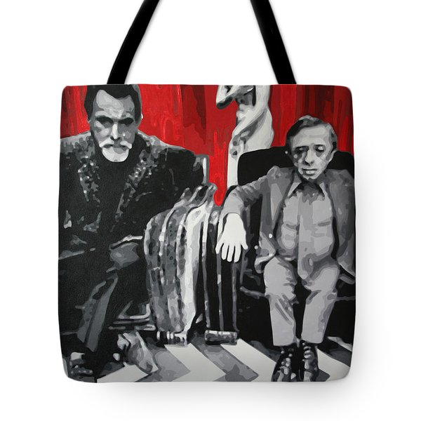 Black Lodge Tote Bag