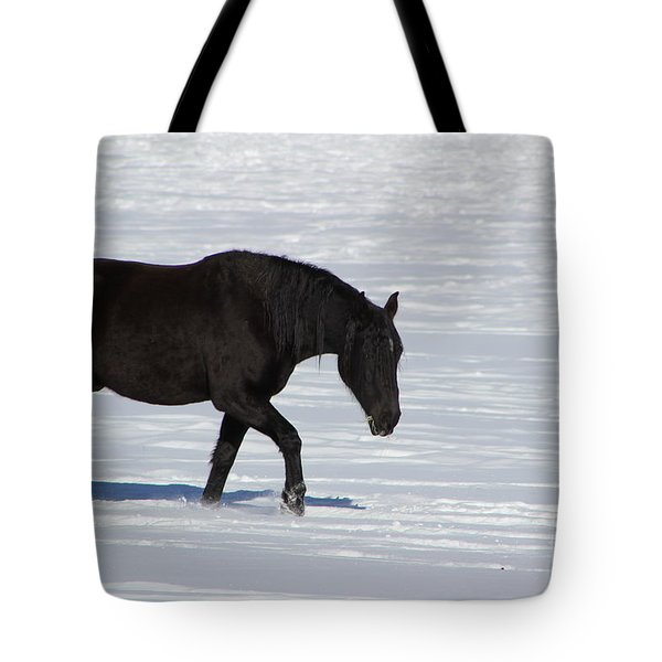 Tote Bag featuring the photograph Black Magic by Fiona Kennard