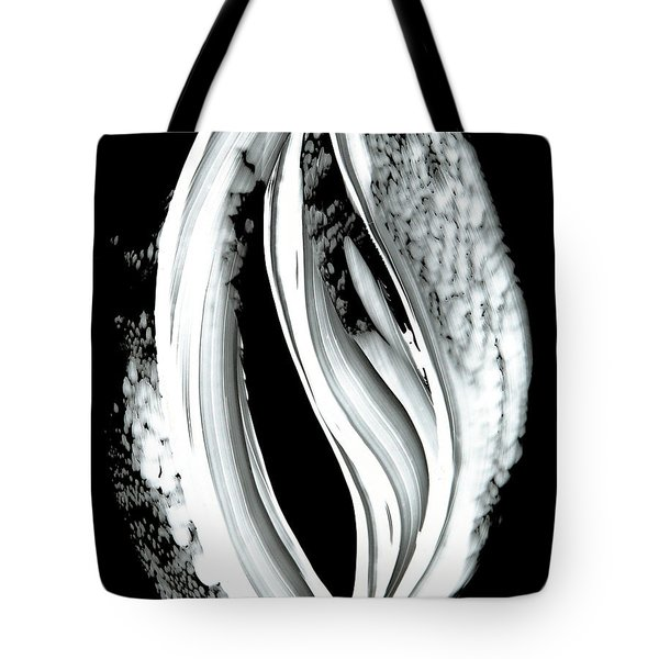 Black Magic Inverted 2 Tote Bag by Sharon Cummings