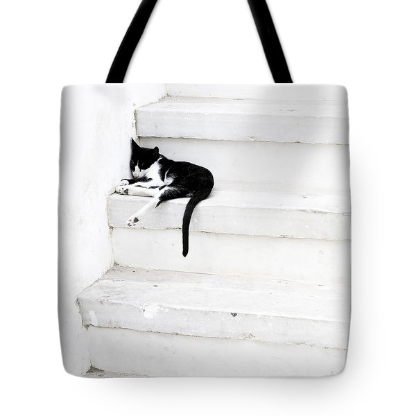 Black On White 2 Tote Bag