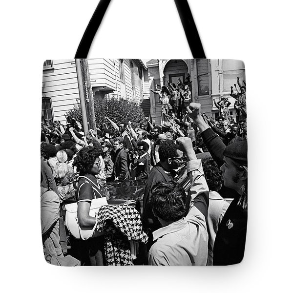 Black Panther Funeral Tote Bag