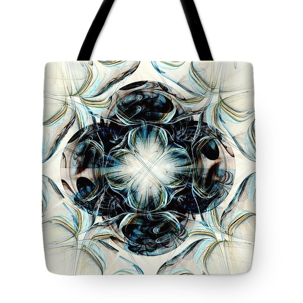 Black Pearls Tote Bag by Anastasiya Malakhova