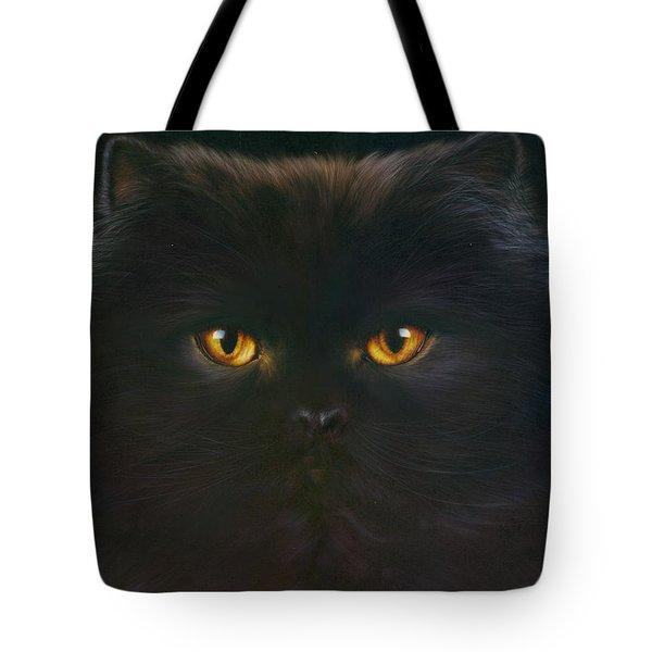 Black Persian Tote Bag