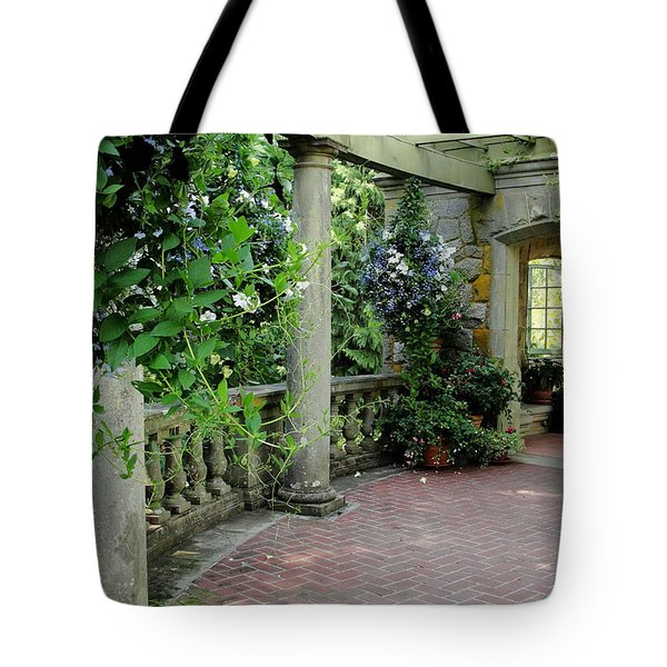 Tote Bag featuring the photograph Black Petunias by Natalie Ortiz