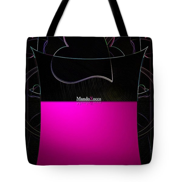 Black Pink Luv Tote Bag