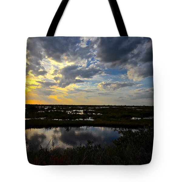 Black Point Sunset Tote Bag
