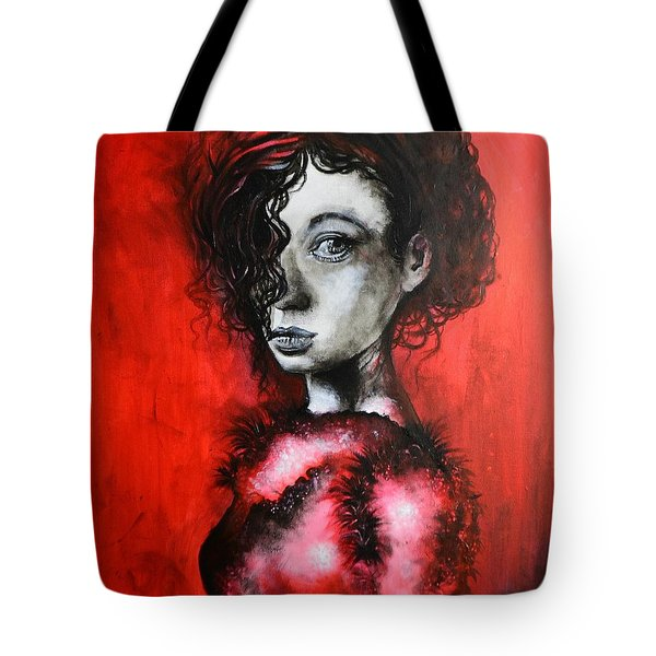 Black Portrait 23 Tote Bag