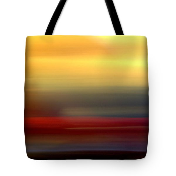 Black Red Yellow Tote Bag by Terence Morrissey
