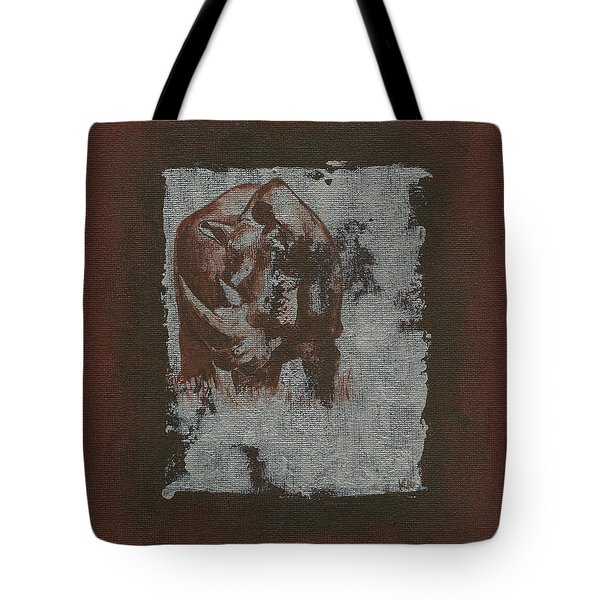Black Rhino Tote Bag