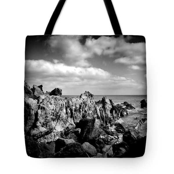 Black Rocks 3 Tote Bag