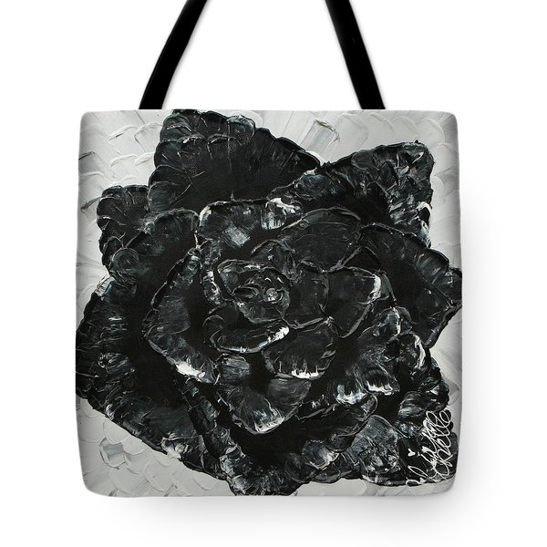 Black Rose I Tote Bag