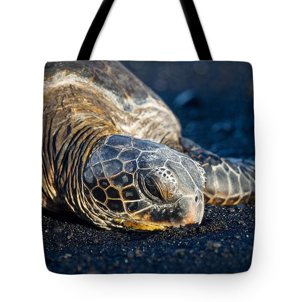 Black Sand Nap Tote Bag