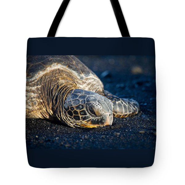 Black Sand Nap Tote Bag