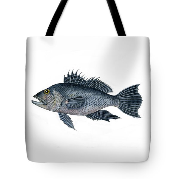 Black Sea Bass 3 Tote Bag