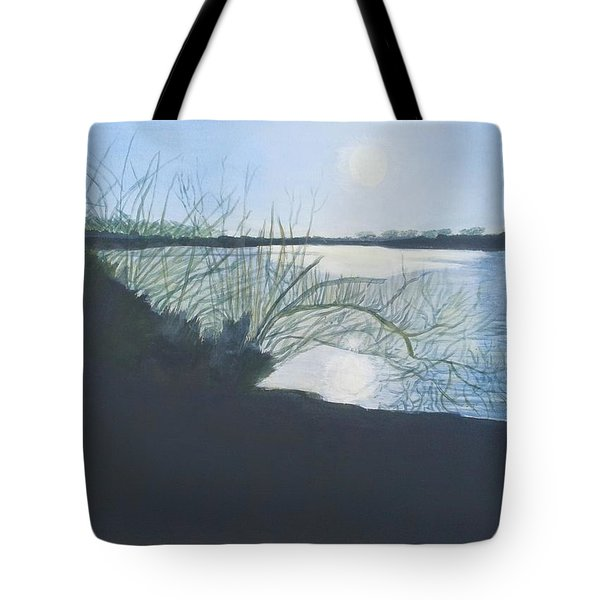 Black Swan Lake Tote Bag by Joanne Perkins