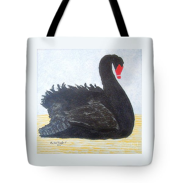 Black Swan Lake Tote Bag