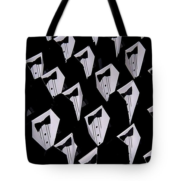 Black Tie Affair Tote Bag