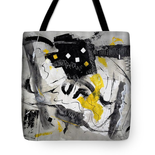 Black Tie And Tails Tote Bag by Ruth Palmer